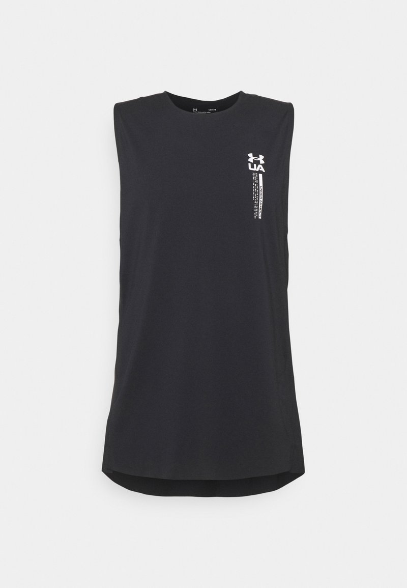 Under Armour - ISOCHILL PERFORATED - Toppe - black