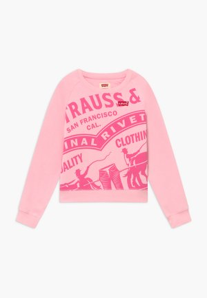 HIGH RISE RAGLAN - Sweatshirt - rose shadow