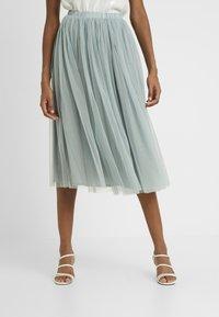 Lace & Beads Tall - VAL SKIRT - A-line skjørt - teal - 0