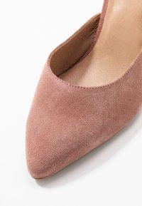 Bianco - BIACAIT ANKLE STRAP - High heels - powder - 2