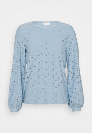 VITRESSY DETAIL ONECK - Long sleeved top - ashley blue