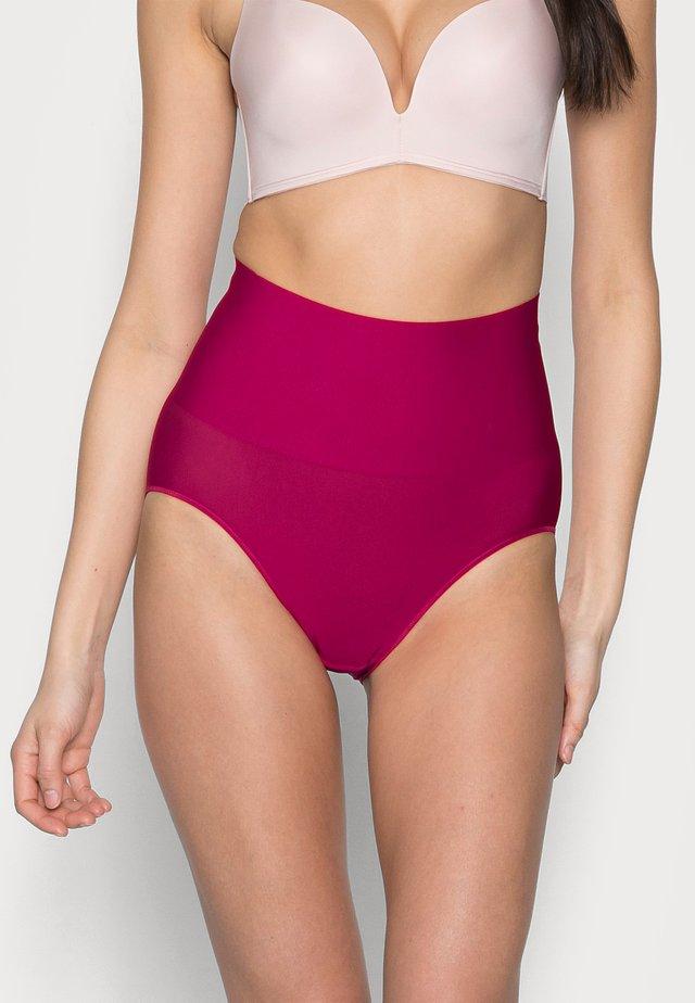 TAME YOUR TUMMY BRIEF - Stahovací prádlo - scarlet berry