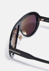 Tom Ford - TROY - Sunglasses - black/smoke - 2