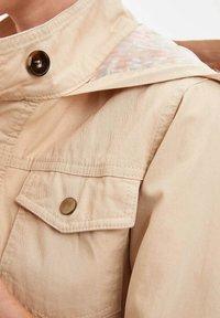 DeFacto - Short coat - beige - 3