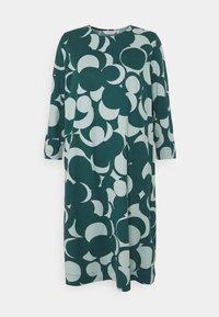 RIIPPUMATON MURIKAT DRESS - Day dress - muted turquoise/deep petrol