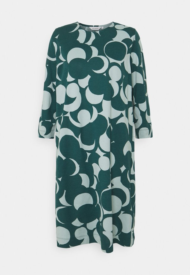 RIIPPUMATON MURIKAT DRESS - Day dress - muted turquoise/deep petrol