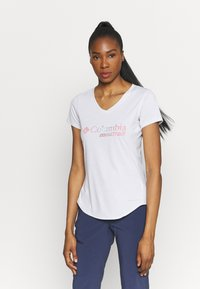 Columbia - TRINITY TRAIL™ II GRAPHIC - T-shirt con stampa - white - 0