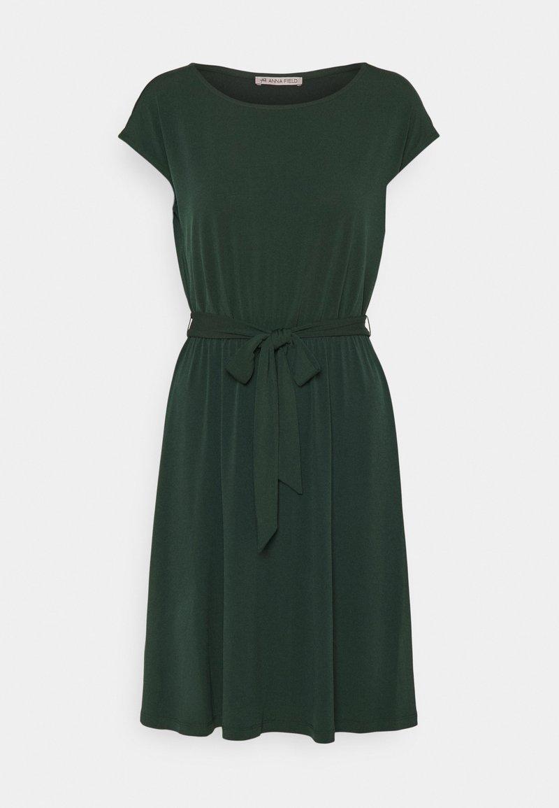 Anna Field - Vestito di maglina - dark green