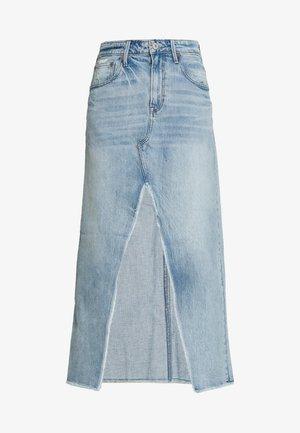90S MAXI SKIRT - Denimová sukně - light blue