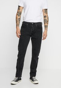 Levi's® Engineered Jeans - 502 REGULAR TAPER - Jeans Tapered Fit - charcoal milk denim - 0