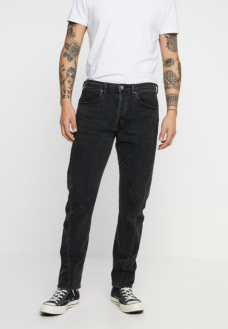 Levi's® Engineered Jeans - 502 REGULAR TAPER - Jeans Tapered Fit - charcoal milk denim