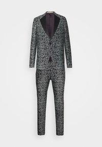 Bertoni - KARLSEN BLOCH SET - Suit - salt/pepper - 0