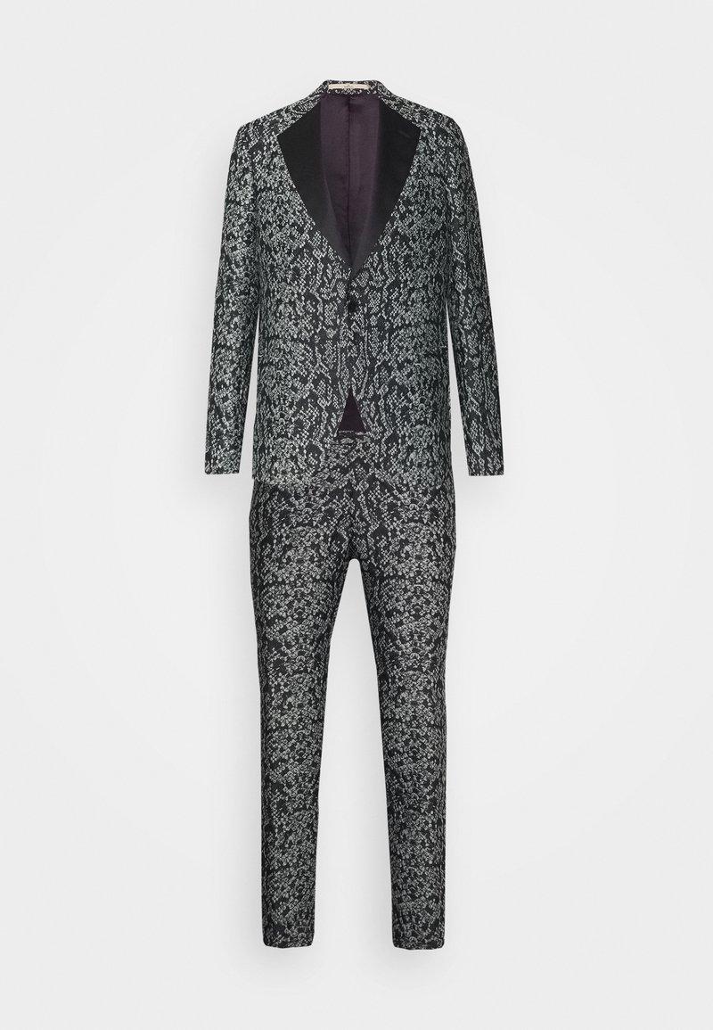 Bertoni - KARLSEN BLOCH SET - Suit - salt/pepper