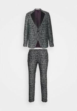 KARLSEN BLOCH SET - Suit - salt/pepper