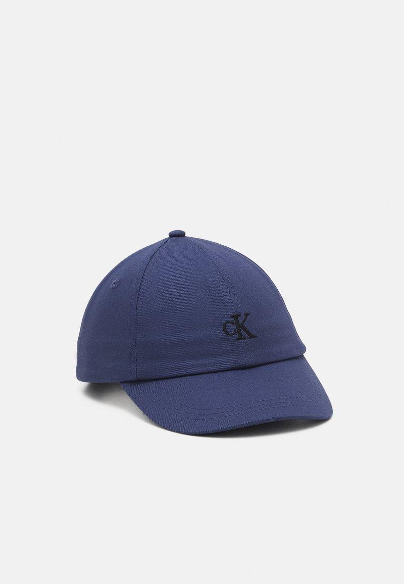 Calvin Klein Jeans - MONOGRAM BASEBALL UNISEX - Kšiltovka - blue