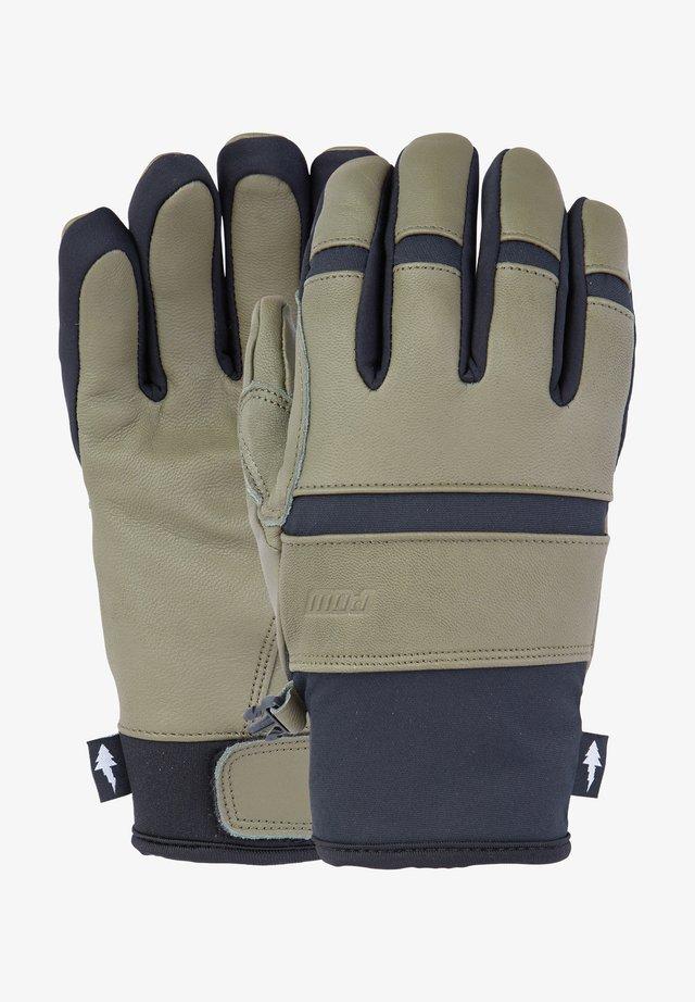 VILLAIN - Gloves - military olive