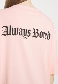 YOURTURN - UNISEX - Print T-shirt - pink - 4