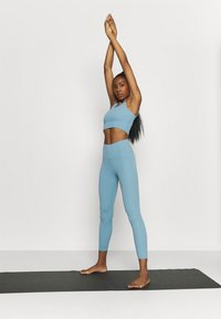 Nike Performance - THE YOGA LUXE CROP TANK - Top - cerulean/light armory blue - 1