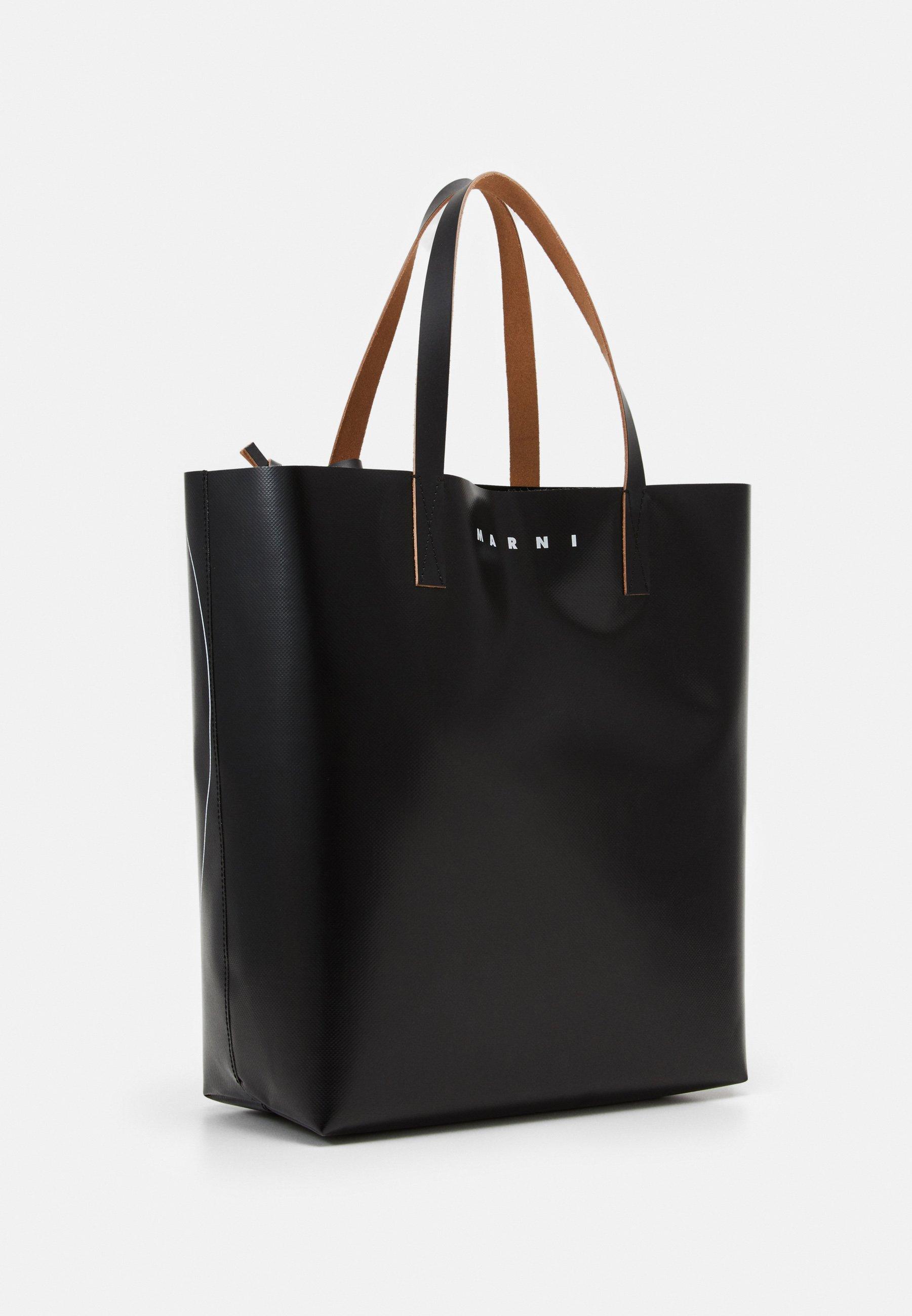 Marni Shoppingveske - black/svart uStcMzeHW2JVs39