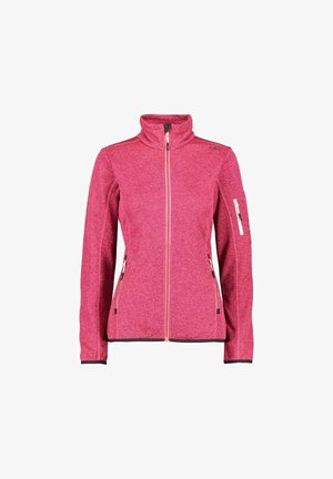 Zip-up hoodie - gloss fragola