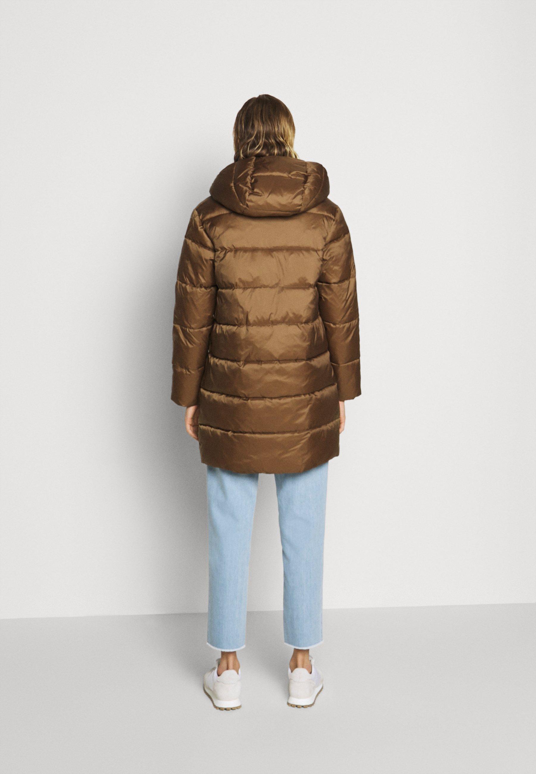 Blauer IMPERMEABILE TRENCH LUNGHI OVATTA - Veste d'hiver - dachshund - Manteaux Femme qN6ZW