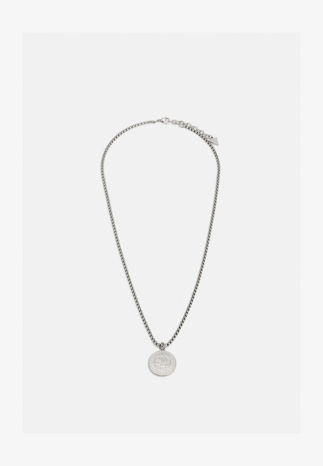 COIN CHAIN UNISEX - Collier - silver-coloured