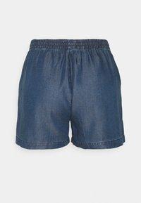 ONLY Tall - ONLPEMA LIFE - Shorts - dark blue denim - 1