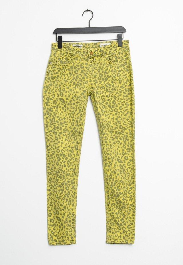 Jean droit - yellow