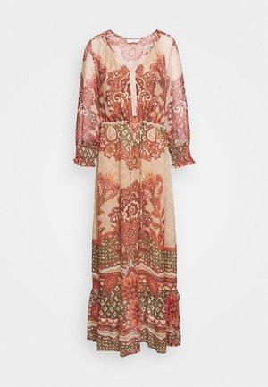 SANNIE DRESS - Maxi šaty - biscotti medallion