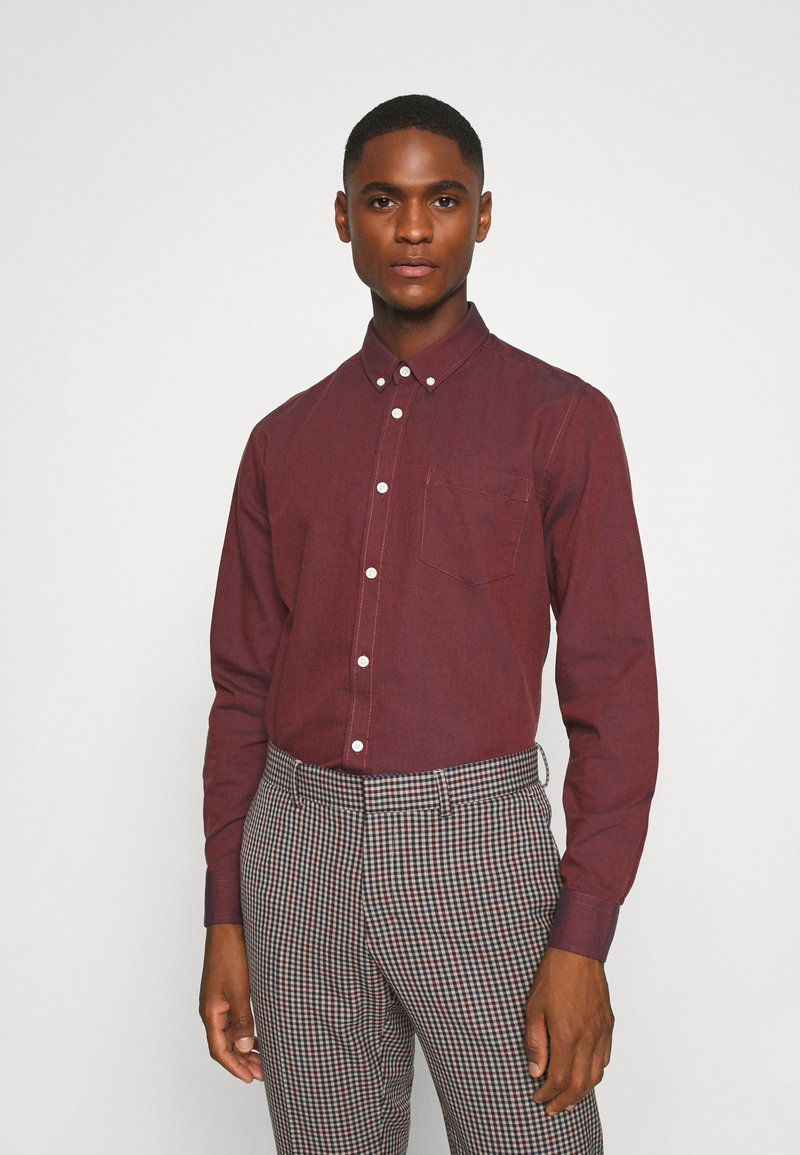 Only & Sons - ONSALVARO OXFORD - Shirt - henna