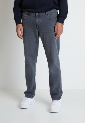 B&T MADISON STR AMES  - Straight leg jeans - grey denim