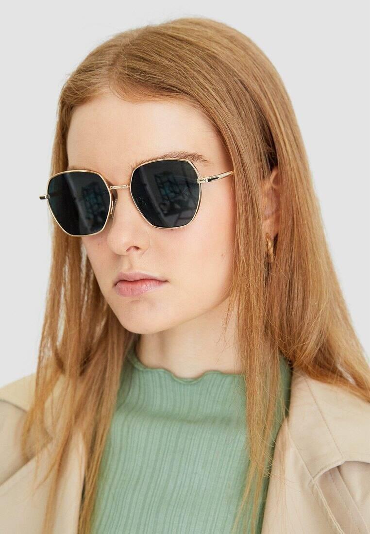 Stradivarius - Sunglasses - green