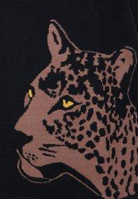 seeyou - LEOPARD - Print T-shirt - schwarz - 3