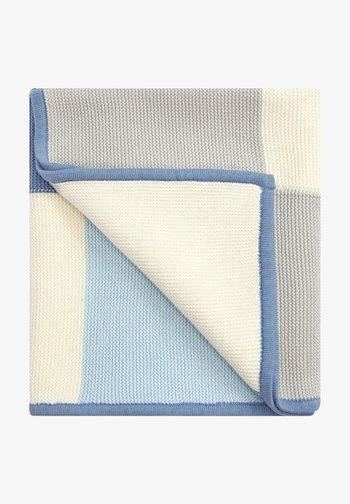 UNISEX - Baby blanket - blue