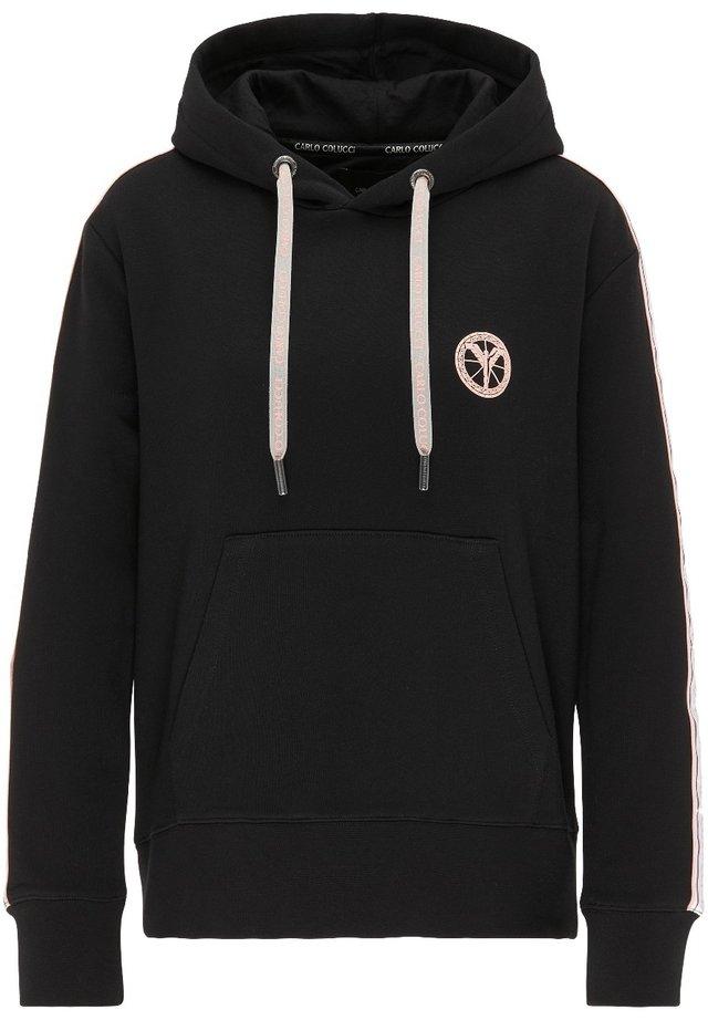 BASIC HOODIE - Sweater - black