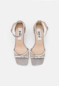 Zign - Sandały na obcasie - grey - 5