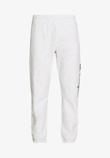ELASTIC CUFF PANTS - Pantalones deportivos - grey