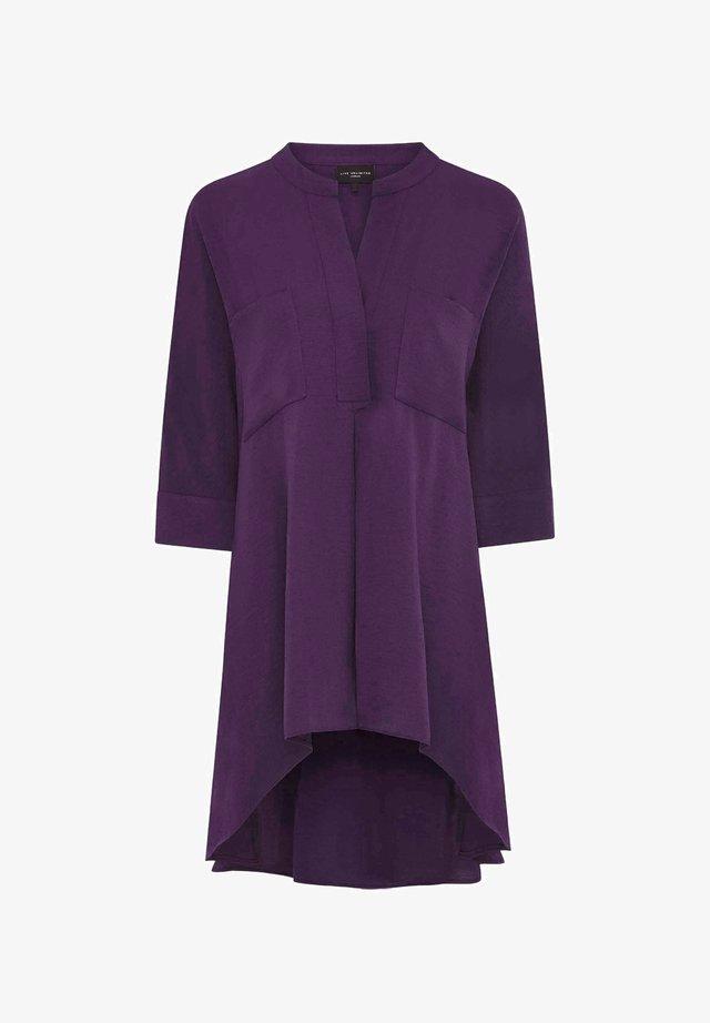 Blouse - dark purple