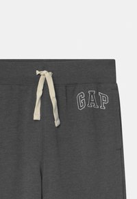 GAP - BOY HERITAGE LOGO  - Tracksuit bottoms - charcoal grey - 2
