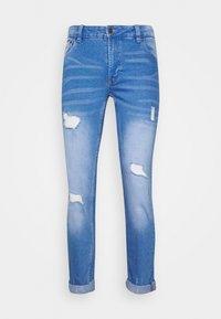 MR RED - Skinny džíny - royal blue
