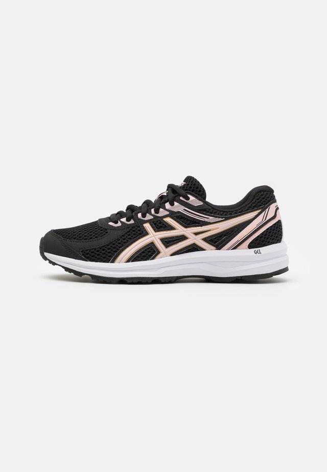 GEL-BRAID - Neutral running shoes - black/ginger peach