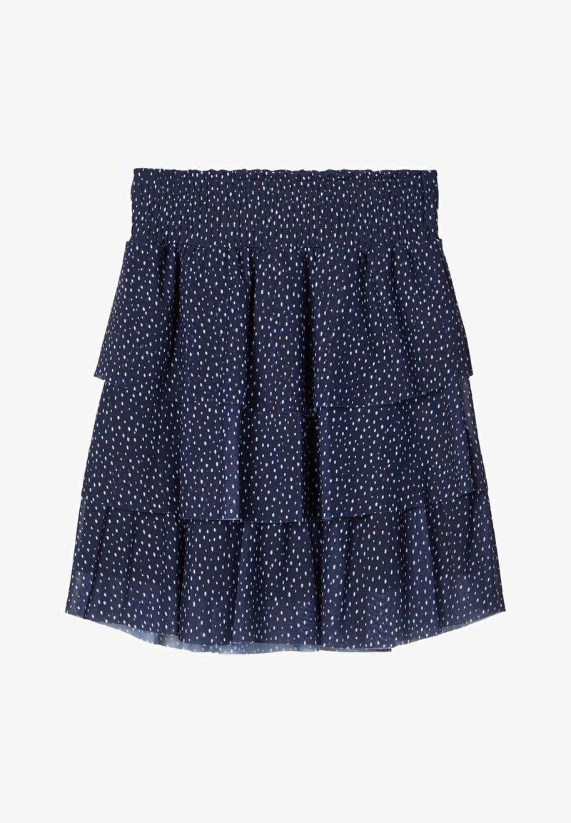 Name it - A-line skirt - dark sapphire