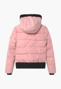 SuperRebel - SUSTAINABLE BASIC SHINY GIRLS - Snowboard jacket - light pink - 1