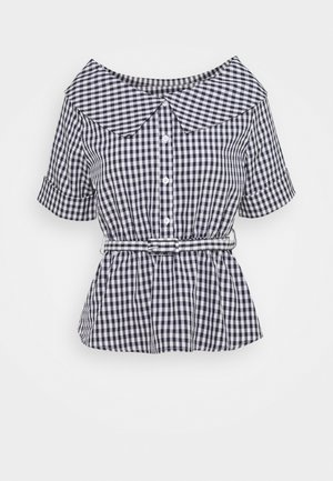 YOUNG LADIES - Button-down blouse - navy blue