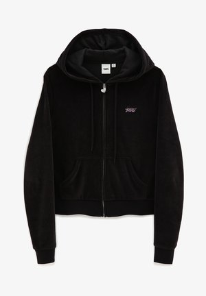 WM TOGETHER FOREVER HOODIE - Zip-up hoodie - black