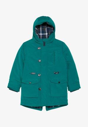 Winterjas - teal green