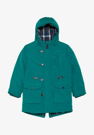 Winter coat - teal green