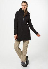 CMP - WOMAN ZIP HOOD - Soft shell jacket - nero - 1