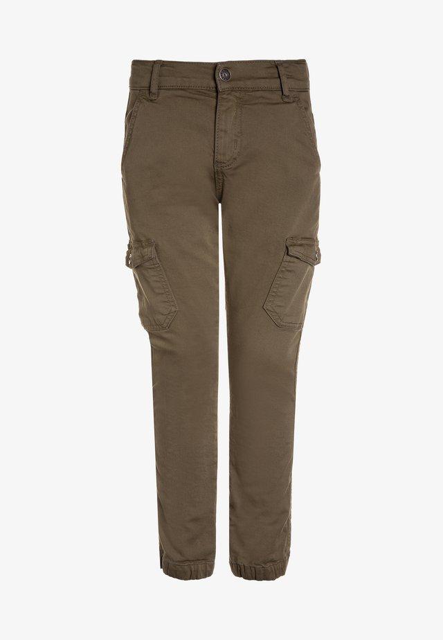 BOYS PANT - Pantalon cargo - oliv antik