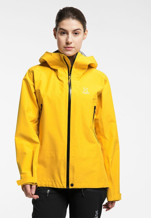 HARDSHELLJACKE ROC GTX JACKET WOMEN - Hardshell jacket - pumpkin yellow